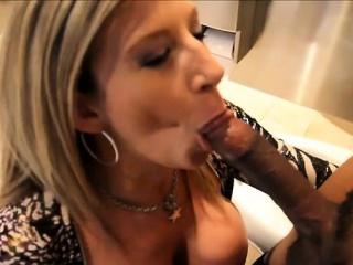Glum housewife orgasm