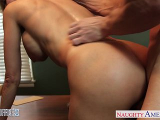 Stockings office coddle Brandi Reverence gets nailed