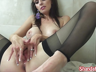 Abnormal Milf Shanda Fay Gets Fucked far Hotel & Squirts!