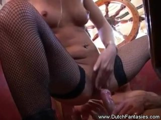 Dutch MILF Fantasy Comes True