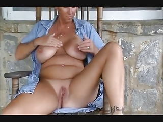 Mature Mom needs Cum on her Big Natural Boobs