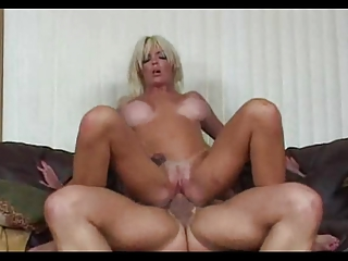 Trashy blond creampie 2
