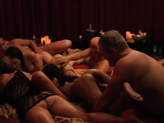 Group for swingers nasty game added to orgy in Swinger mansion