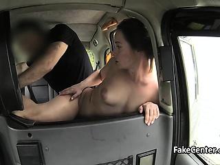 Fresh milf fucks for easy cab lane