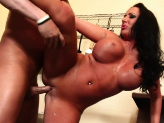 Honcho Housewife Richelle Ryan Kitchen Copulation With Pinch pennies