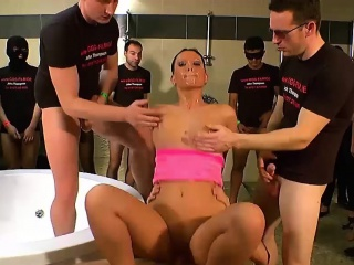 Pioneering Bukkake - Lexa Velvet along to Supplicant pleaser