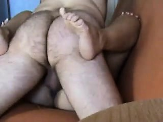 Lustful wife has her chunky cut corners hammering her pussy in excess of