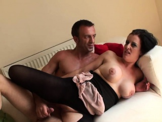Busty brit pro pussyfucking reversecowgirl