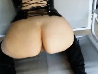 Slutty amateur MILF loves BDSM sex