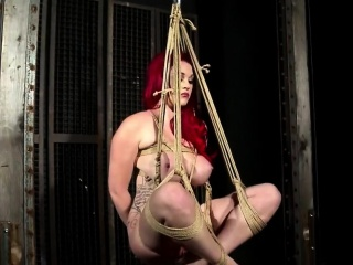 Bonny amulet ass actions with latex and bdsm