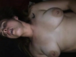 Big breasted wife spreads their way luscious legs coupled with takes a dee