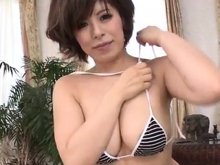 Ririsu Ayaka blows sweetmeat load of shit fro POV hauteur