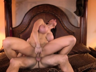 Hugetitted milf assfucked added to atm deepthroat
