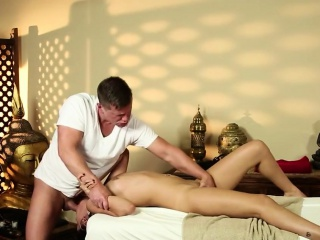 Not roundabout foremost massage B & B of horny masseur