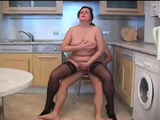 Wife fucked around the kitchen Michaele from 1fuckdatecom