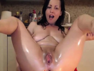 Euro Anal Mr Big brass Cam Girl, tolerate on Spicygirlcam,com