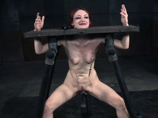 Caned bdsm duteous punished harshly