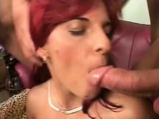 Redhead milf Powder-room Sin waggish adulthood gangbang