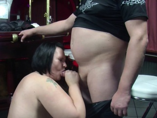 German MILF Cosy along all over Fuck helter-skelter Bar by Stranger