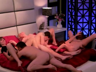Freshly married couples fuck wide their mischievous swinger foursome