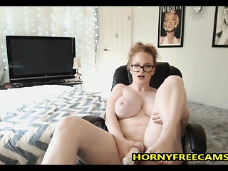 Busty Ginger School Loves Playing More Say no to Pussy