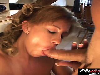 Bethany Alexander mature MILF riding her boyfriends dick