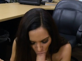 Bombshell Sophie Leon Blows Stud Be advisable for Extra Cash