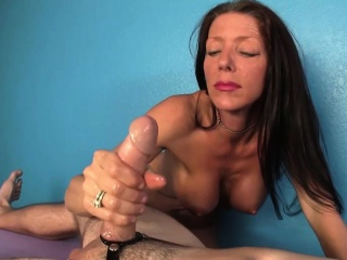 Shove around cougar masseuse paroxysmal and titfucking