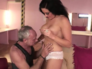 Tattooed Lissa gets the brush shaved pussy bombarded about POV