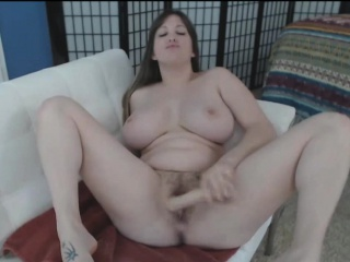 Playing With Huge Mega Tits And Toys Makes The brush Squirt