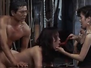 Delightful Asian wife enjoys till the end of time deep sling of cock in h