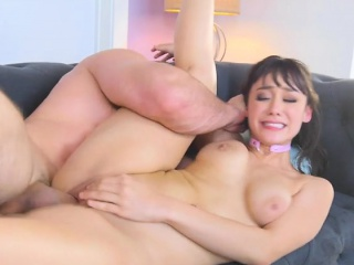 Chesty Secretary Meko Lilly Gets Her Pussy Destitute