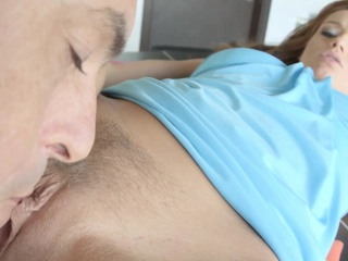 Sophie Lynx gets a albatross of sperm inside her on In every direction Internal