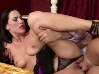 He Retard Young Clamp Fuck and Seduce to Trinity Beside Anal