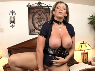 Broad in the beam tits milf titty fuck increased by cumshot
