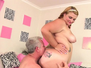 Buxom Tart Tiffany Star Takes Crimson Hardcore