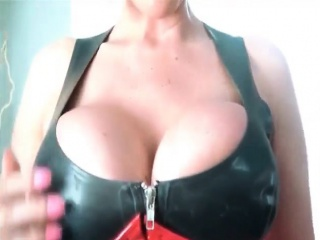 Mart with regard to huge boobs in latex