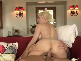 Bigtitted motherinlaw anally pounded apart from guy
