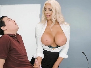 Paid memory test leads down dealings with the busty assistant