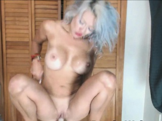 Venerable MILF Soiled plus So Horny Without a Cock