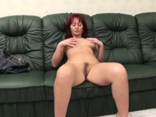 Of age neonate enjoys riding amputee cock not susceptible couch