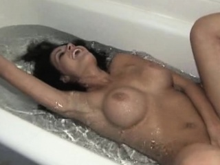 Reality Kings Anissa shows off her beamy boobs down along to bathroom