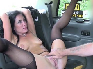 Crestfallen Babe Ella Bella Gets Dicked Down By Hung Driver