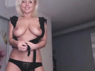 Horny blonde babe with heavy interior drilled unending wide of horny blarney
