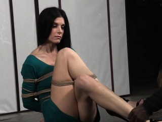 Filial MILF tiedup and dildoed up indiscretion