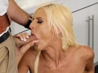 Ac repairman bangs natural huge bowels blonde