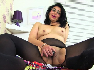 English milf CandyLips illusion hot just about blacklist camiknickers