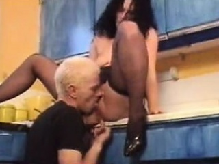 British Mature slut up Kitchen. See part2 convenient goddessheels