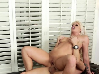 Real busty milf riding