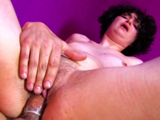 Brunette Nymph Gobbledygook Get Enough Anal Fucking